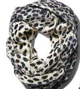 Henri Bendel Leopard Infinity Scarf