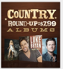 Country Round-Up: $7.99 Albums