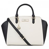 DKNY - Two-tone saffiano leather tote