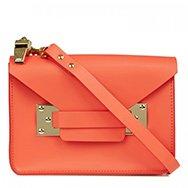 SOPHIE HULME - Mini leather cross-body bag