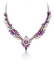 Swarovski By Shourouk Pink Necklace