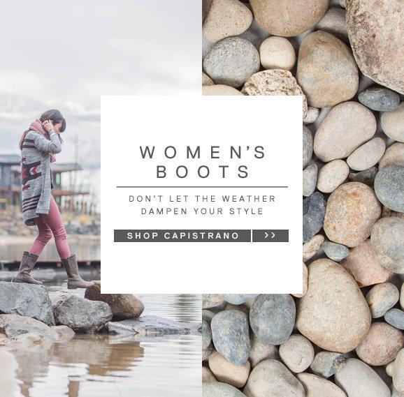 WOMEN'S BOOTS - SHOP CAPISTRANO