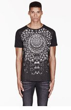 KSUBI Black ZEN MEN print t-shirt for men