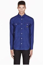 A.P.C. Indigo CARHARTT edition Sailor Shirt for men