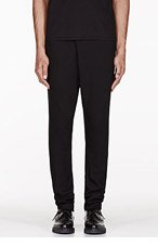 MA JULIUS Black Unisex trousers for men