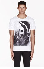 KSUBI White PEACEFUL VISIONS print t-shirt for men