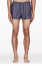 MARC BY MARC JACOBS Grey DALSTON DOT SWIM Shorts for men