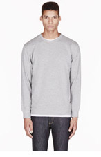 A.P.C. Grey Wool CARHARTT edition Sweatshirt for men