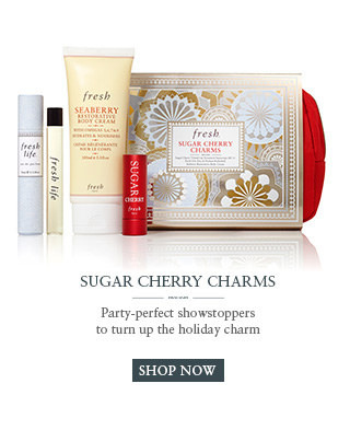 Sugar Cherry Charms
