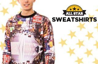 All Stars: Sweatshirts
