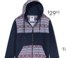 Yardage Zip Hood