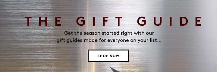'Tis the season for shopping! Discover our holiday gift guides now.