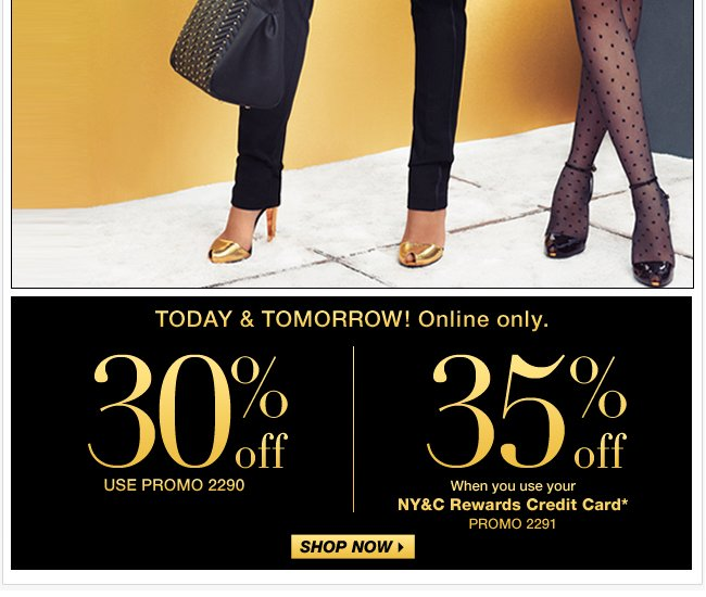Everything buy one, get one 50% off in stores & online!
