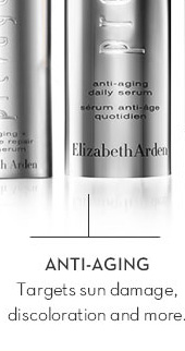 ANTI-AGING. Targets sun damage, discoloration and more.