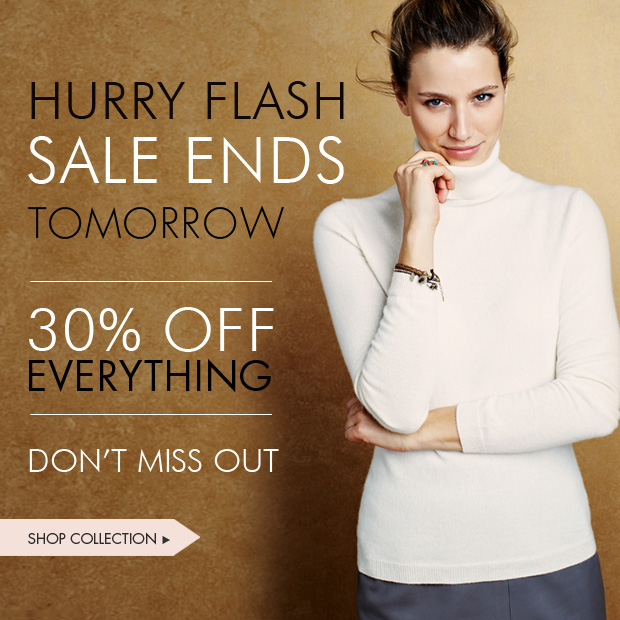 Download Images: Flash Sale: Hurry Sale ends tomorrow 30% off everything