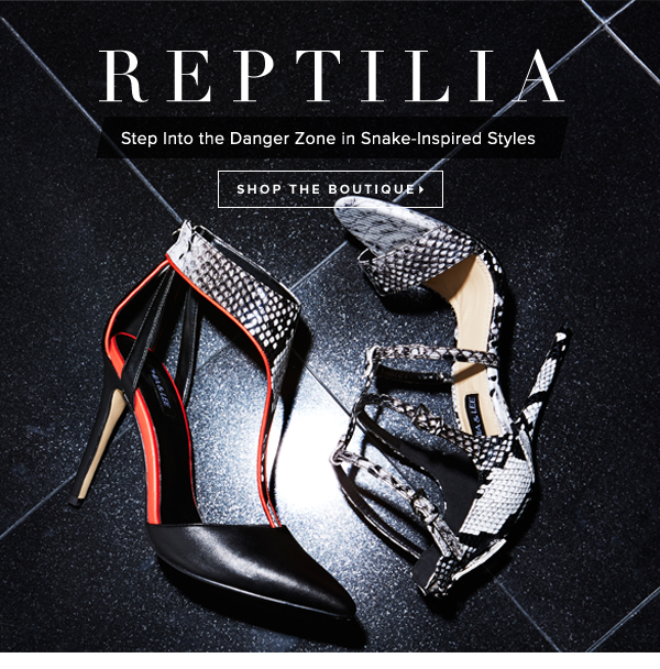 Reptilia Step Into the Danger Zone in Snake-Inspired Styles - - Shop the Boutique