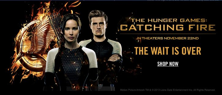 THE HNGER GAMES: CATCHING FIRE