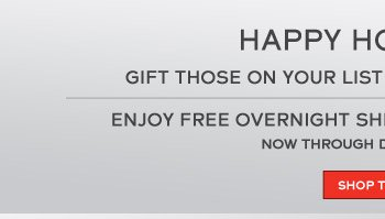 Happy Holidays! Gift those on your list with a Tissot gift card