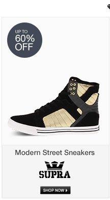 Supra Modern Street Sneakers