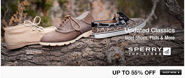 Sperry Top-Sider Boat Shoes, Flats and More