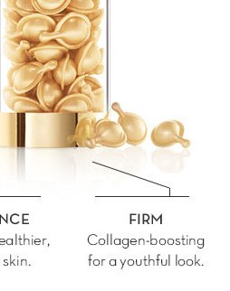 FIRM. Collagen-boosting for a youthful look.