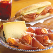 Jamon and Aged Manchego Combo