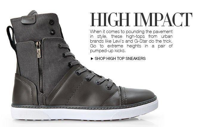Shop Men's Hi Top Sneakers