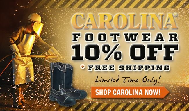 Get 10% Off All Carolina Boots & Shoes Boots!