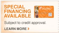 SPECIAL FINANCING AVAILABLE Learn More >