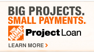 BIG PROJECTS. SMALL PAYMENTS.Project Loan  Learn More >