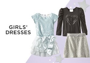 The Holiday Party: Girls' Dresses