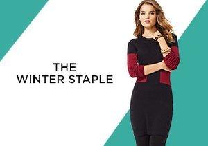The Winter Staple: Sweater Dresses