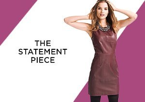 The Statement Piece: Leather Dresses