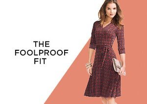 The Foolproof Fit: Wrap Dresses