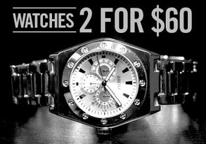 Shop LAST CHANCE: Breda Watches 2 for $60