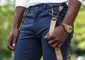 Shop Best of FUSAI ft. Suspender Pants