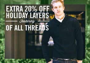 Shop Exclusive Layers EXTRA 20% Off