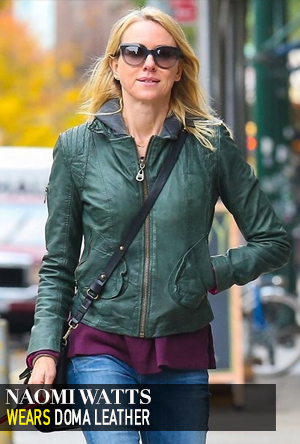 Naomi Watts in Doma Leather