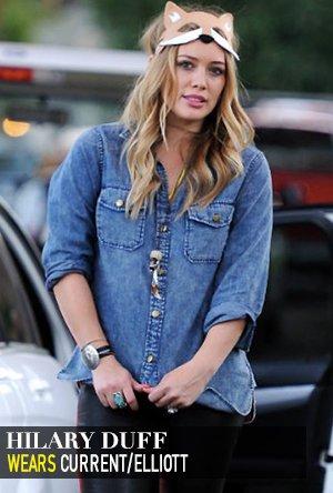 Hilary Duff in Current Elliott