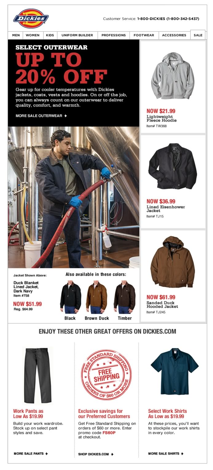 Select Outerwear Up to 20% OFF