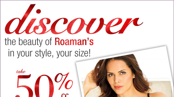 Take 50% off your highest item + 50% off your 2nd highest with 3 items! Use RD5050