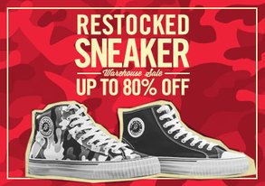 Shop Sneaker Warehouse Sale up to 80% off