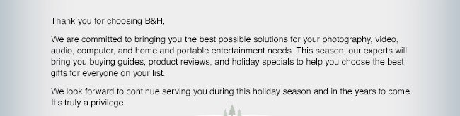 Buying Guides, Products Reviews, and Holiday Specials