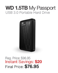 WD 1.5TB My Passport