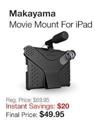 Movie Mount for iPad