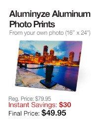Aluminum Photo Prints