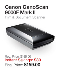 CanoScan 9000F Mark II