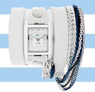 Capri Multichain Wrap Watch