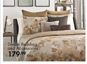 Dream Bedding and Accessories 179.99 King
