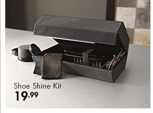 Shoe Shine Kit 19.99